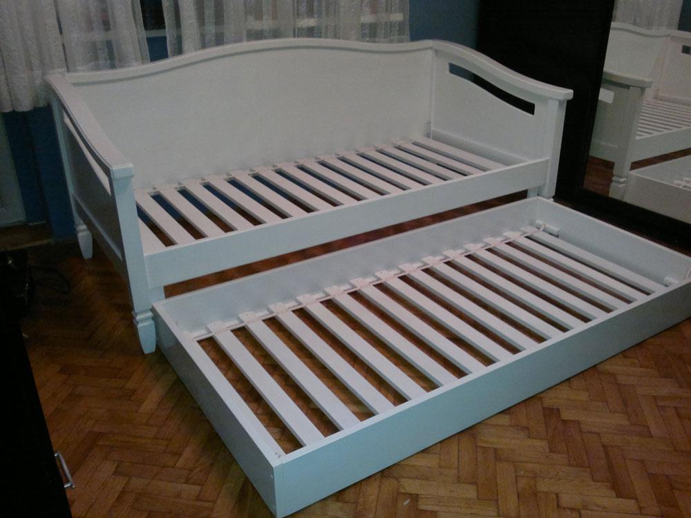 Deciji kreveti od punog drveta - Samac